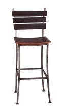 "Wine Barrel Stave Back Bar Stool 30"" 2 Day Designs 4087"