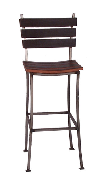 Wine Barrel Stave Back Bar Stool 30 Quot 2 Day Designs 4087