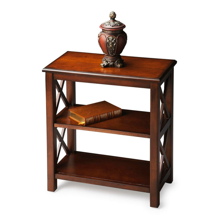 Butler Vance Plantation Cherry Bookcase