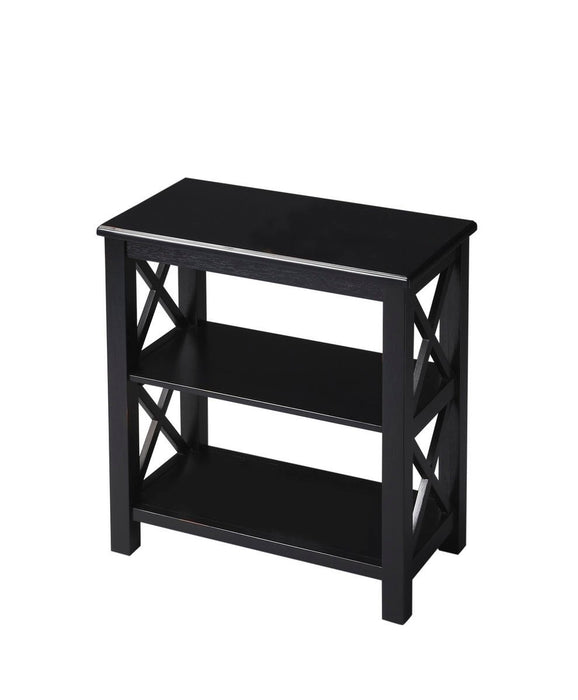 Butler Vance Black Licorice Bookcase