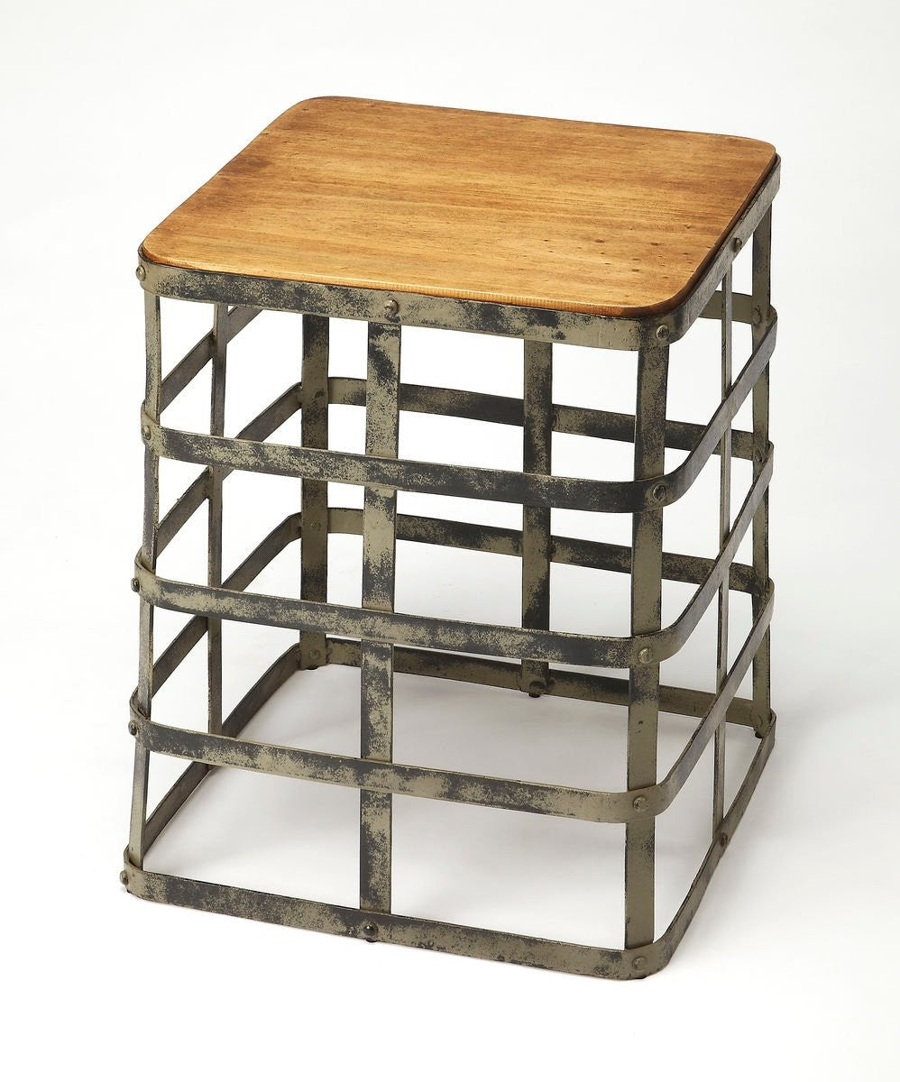 Butler Gantry Industrial Chic End Table