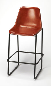 Butler Myles Leather Bar Stool