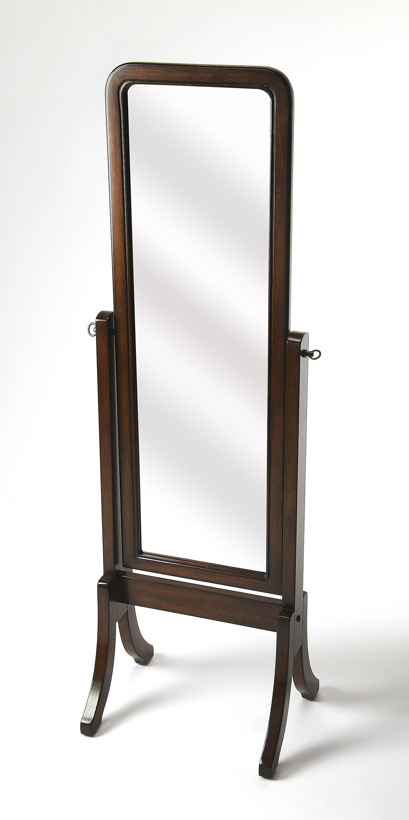 Butler Chadwick Plantation Cherry Cheval Mirror