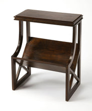 Butler Pascal Dark Brown Wood Book Table