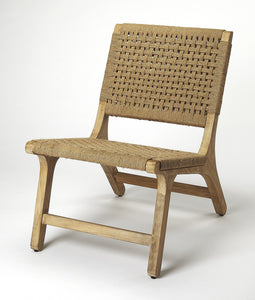 Butler Tilden Woven Jute Accent Chair