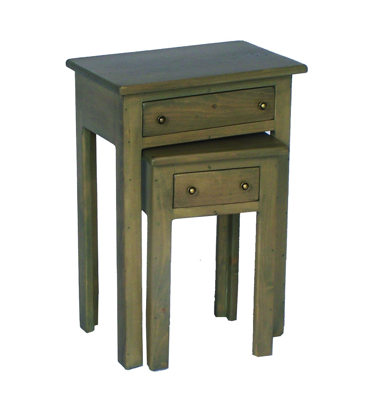 Nesting Tables W/ Drawers 2 Day Designs