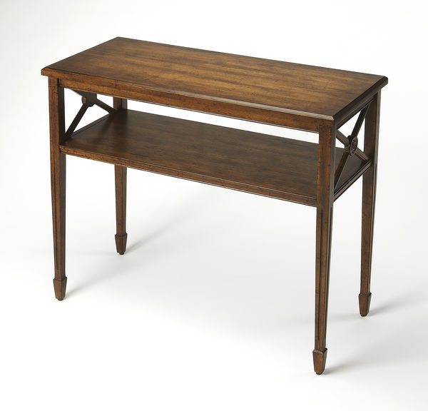 Butler Specialty Company Alcott Dark Toffee Console Table
