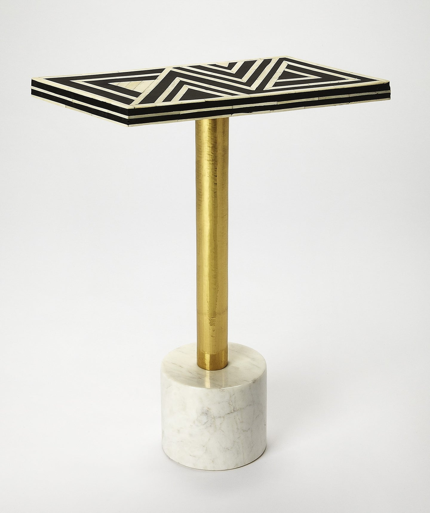 Butler Bone Inlay Draper Accent Table