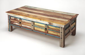 Butler Reverb Painted Rustic Coffee Table