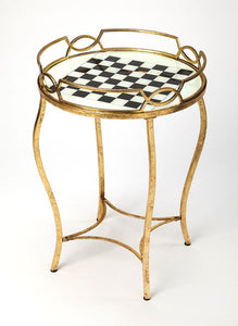 Butler Specialty Company Judith Antique Gold Game Table
