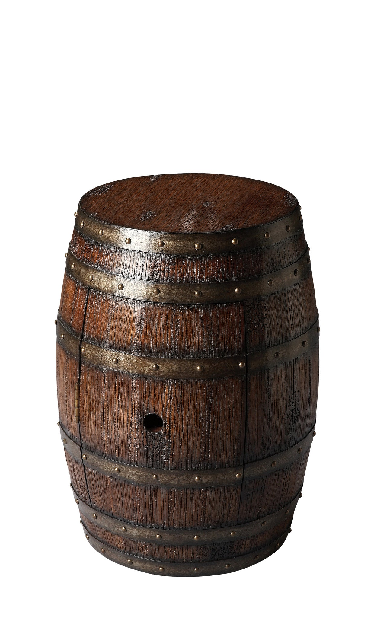 Wine Barrel Table Lovell Rustic Style by Butler Specialty Company 6044120