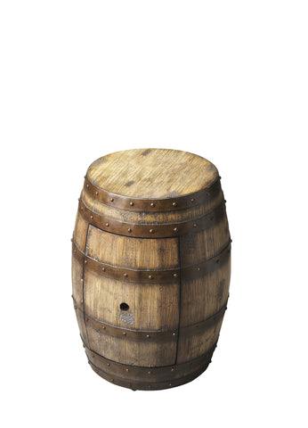 Wine Barrel Table Lovell Praline Style by Butler Specialty Company 6044245