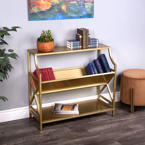 Butler Keats Antique Gold Librarie Bookcase