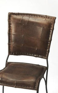 Butler Maverick Iron & Leather Side Chair