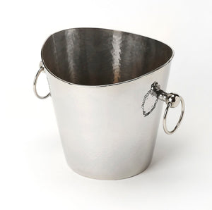 Butler Mendocino Hammered Stainless Steel Wine Bucket