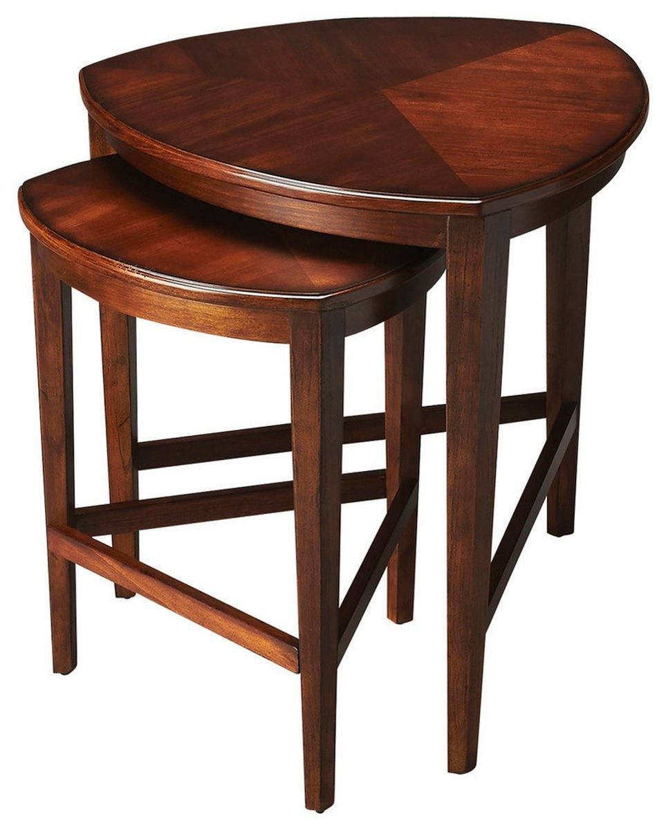 Butler Finnegan Antique Cherry Nesting Tables