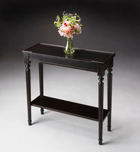 Butler Specialty Company Aubrey Plum Black Console Table