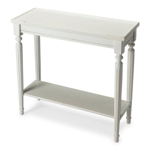 Butler Aubrey Cottage White Console Table