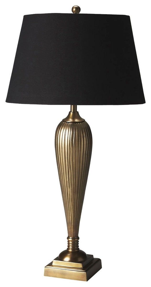 Butler Camila Antique Brass Table Lamp