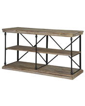 La Salle Metal And Wood Console By Crestview Collection Cvfzr1499
