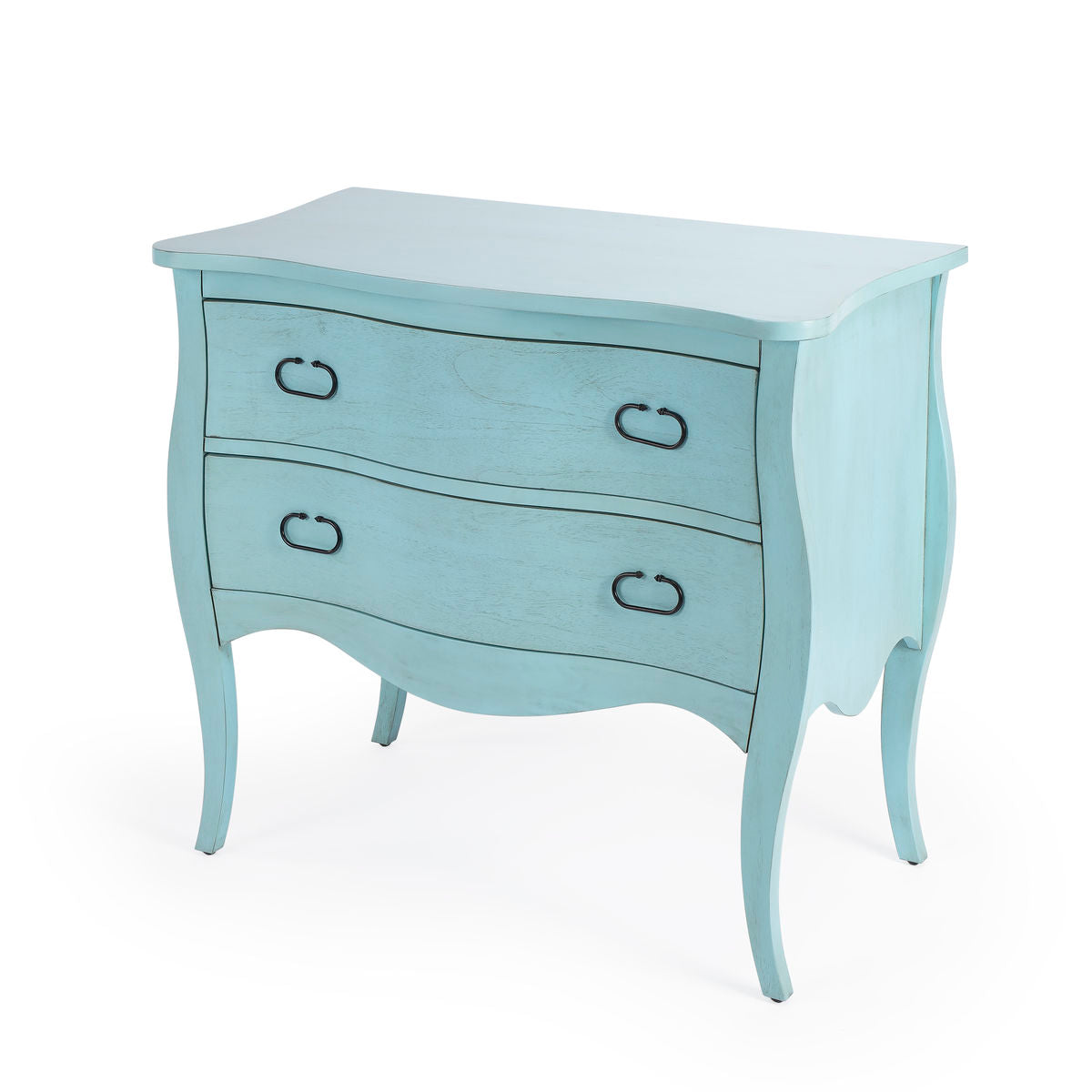 Butler Rochelle Distressed Blue Drawer Chest