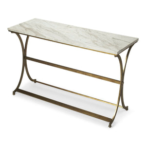Butler Pamina Travertine Console Table