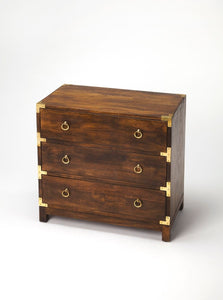 Butler Forster Brown 3 Drawer Campaign Chest