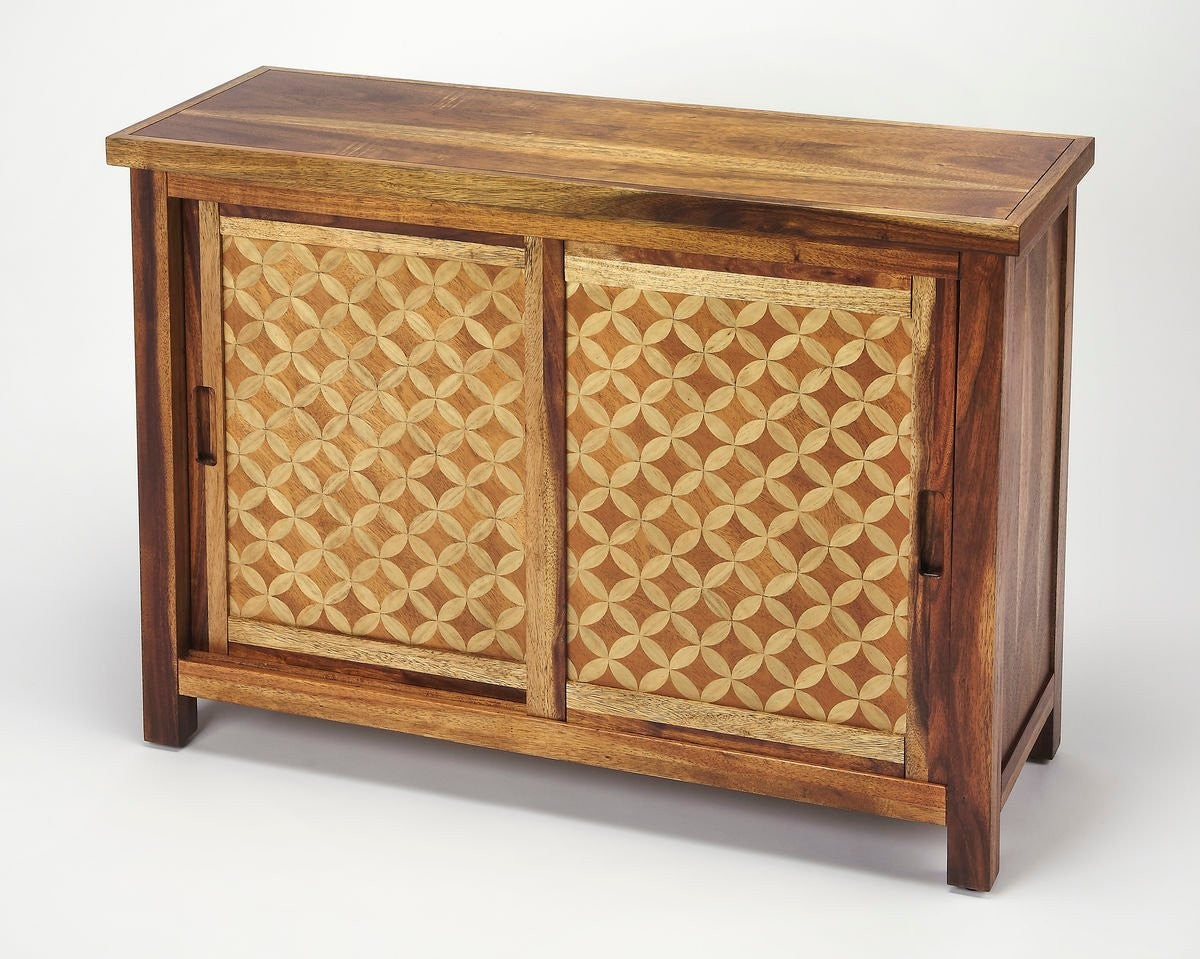 Butler Harlow Solid Wood Console Cabinet