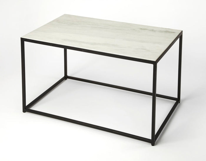 Butler Phinney Marble & Metal Coffee Table