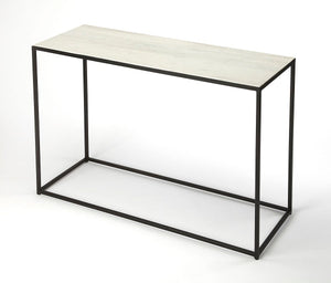 Butler Phinney Marble & Metal Console Table