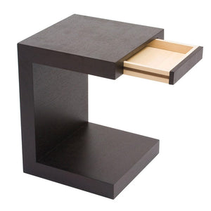 Zio Sidetable Black Oak