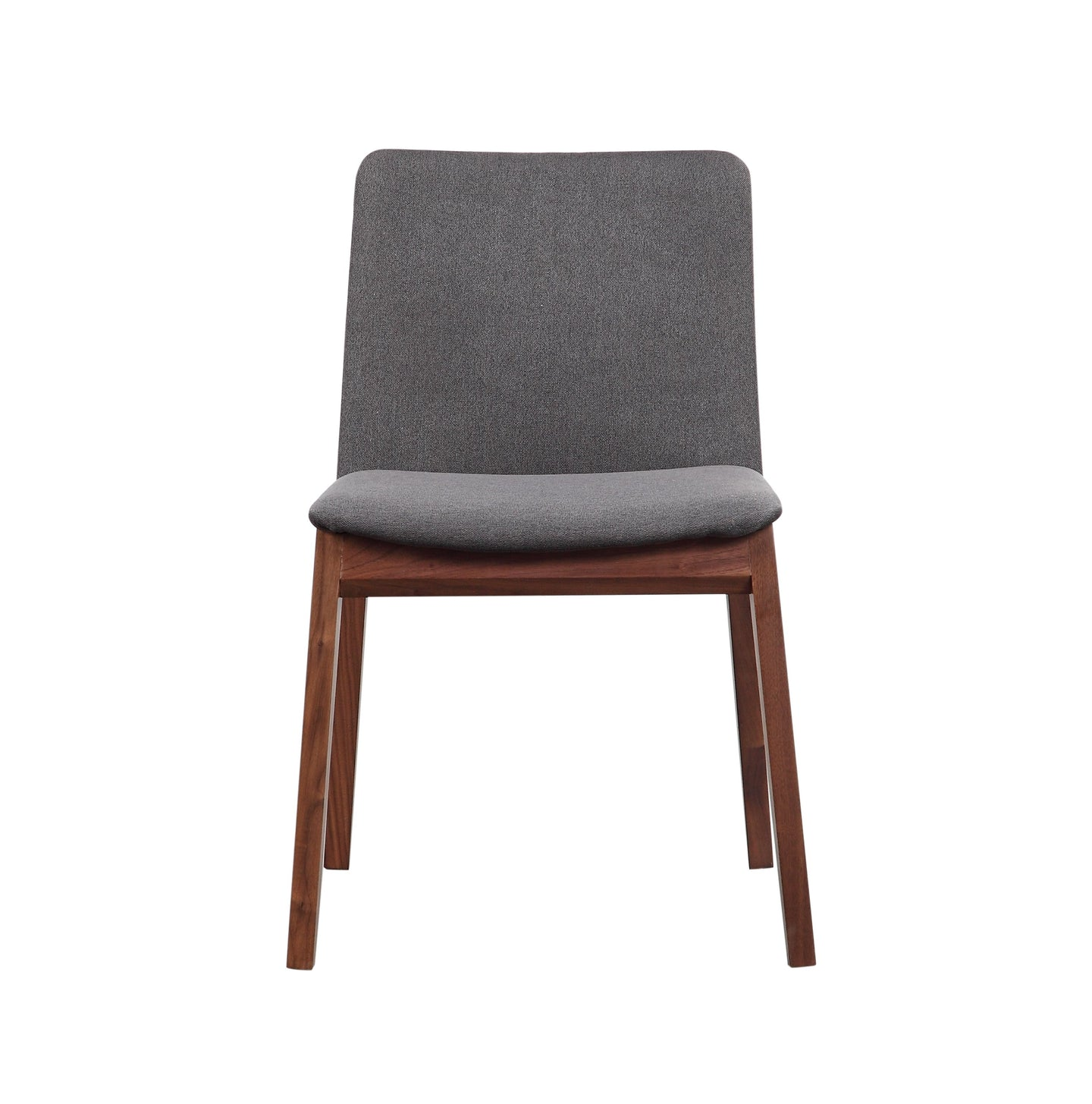 Deco Dining Chair Grey-Set Of Two