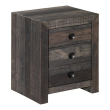 Vintage Nightstand Grey
