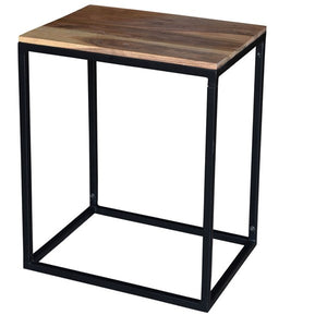 Crestview Collection Wood Rectangle End Table