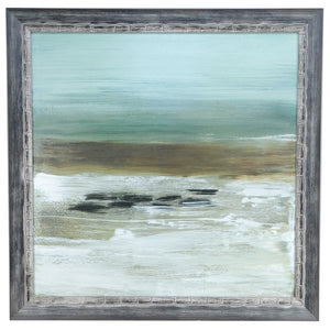 Beach Horizon Framed Print By Crestview Collection