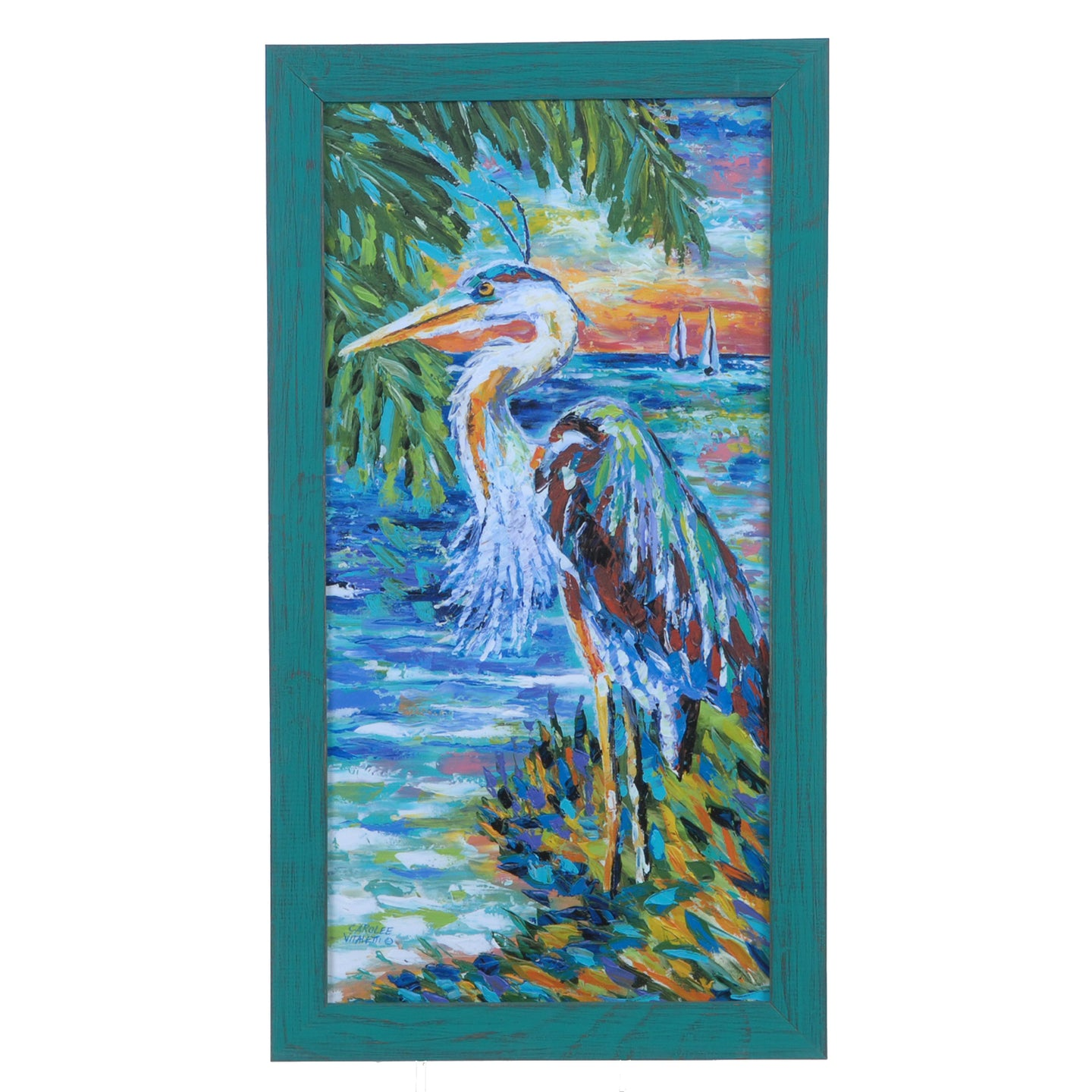 Beach Comber Wall Art 2 By Crestview Collection