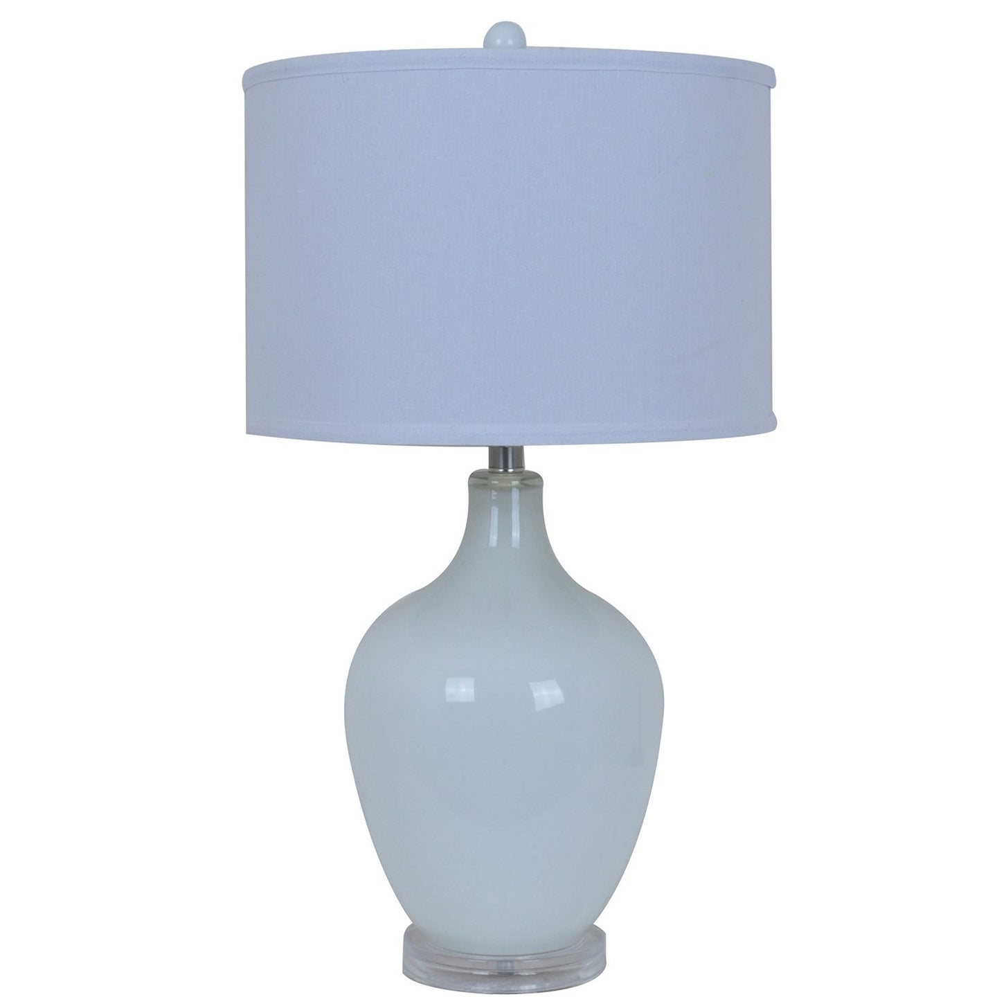 Avery White Table Lamp