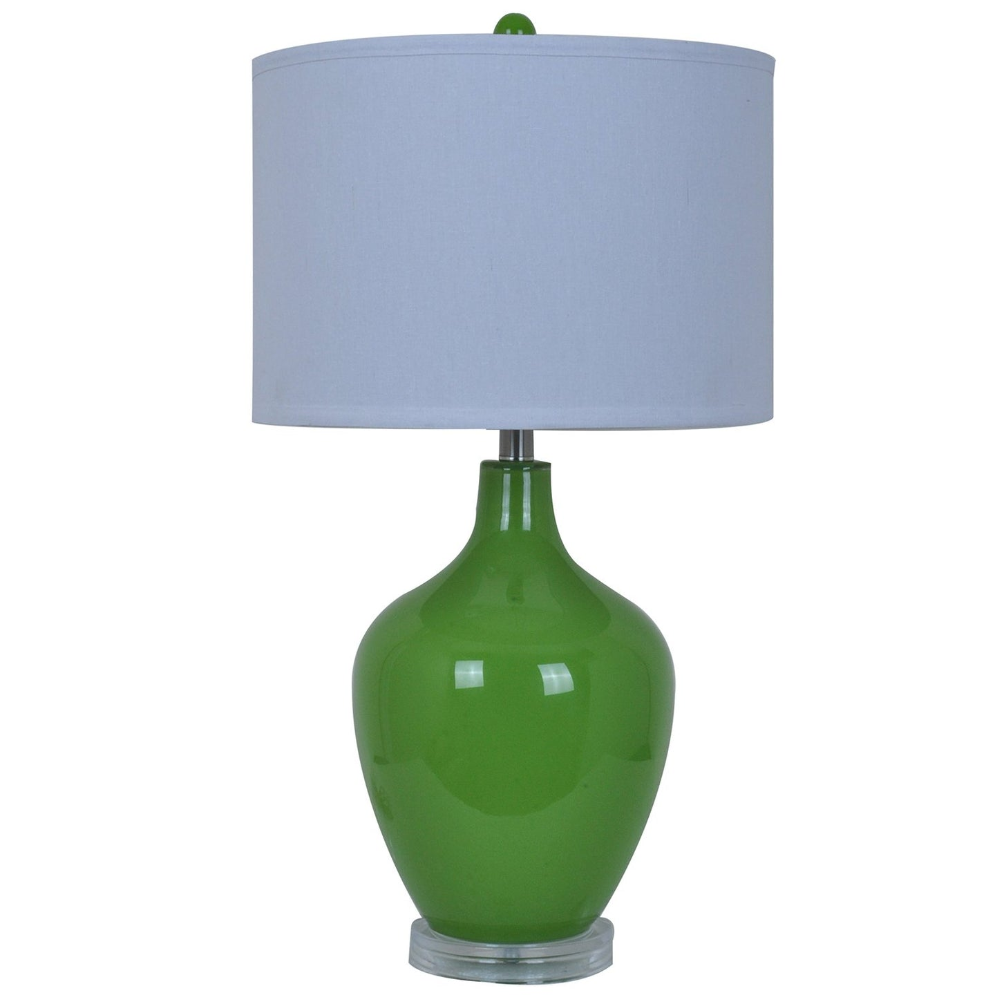 Avery Orange Table Lamp