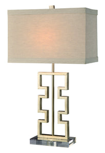 "Azteca Table Lamp 27""Ht"