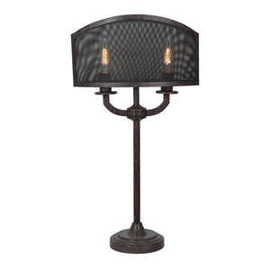 Brooks table lamp by crestview collection cvaer949 the rustic brooks table lamp by crestview collection cvaer949 mozeypictures Image collections