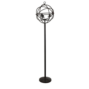 "70"" Global Tall Floor Lamp By Crestview Collection Sku Cvaer982"