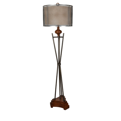 "Kenwood 67"" Floor Lamp by Crestview Collection CVAER995"