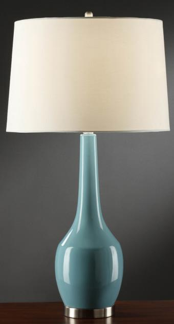 Nina Blue Table Lamp
