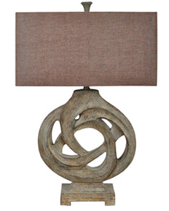 Coiled Branch Table Lamp