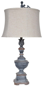 "Weather Vane Table Lamp 34""Ht."