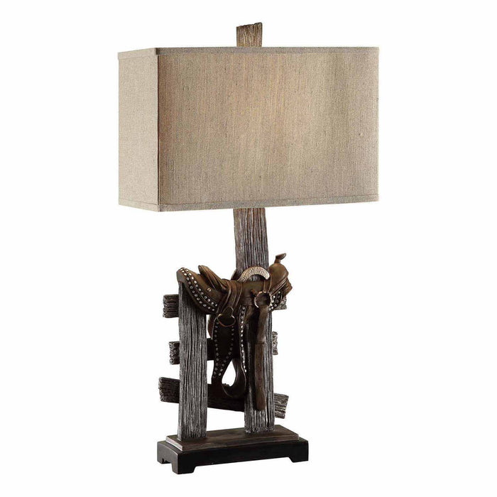 Wood Table Lamp By Crestview Collection Cvavp160