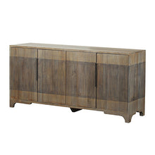 Bengal Manor 2 Tone Grey Mango Wood 4 Door Sideboard By Crestview Collection Sku Cvfnr382