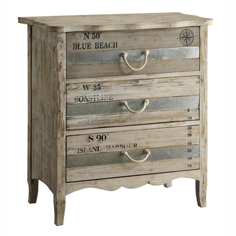 Grand Isle 3 Drawer Chest - The Rustic Furniture Store