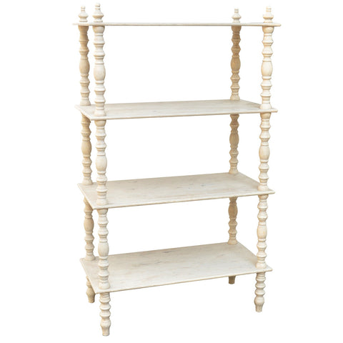 "60"" Lyndsay Etagere Bookcase by Crestview Collections SKU CVFZR1018"