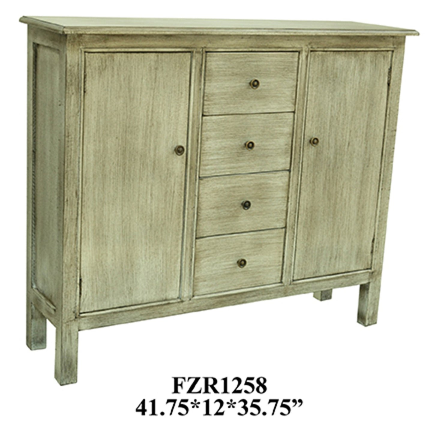 Brookline 4 Drawer / 2 Door Cabinet